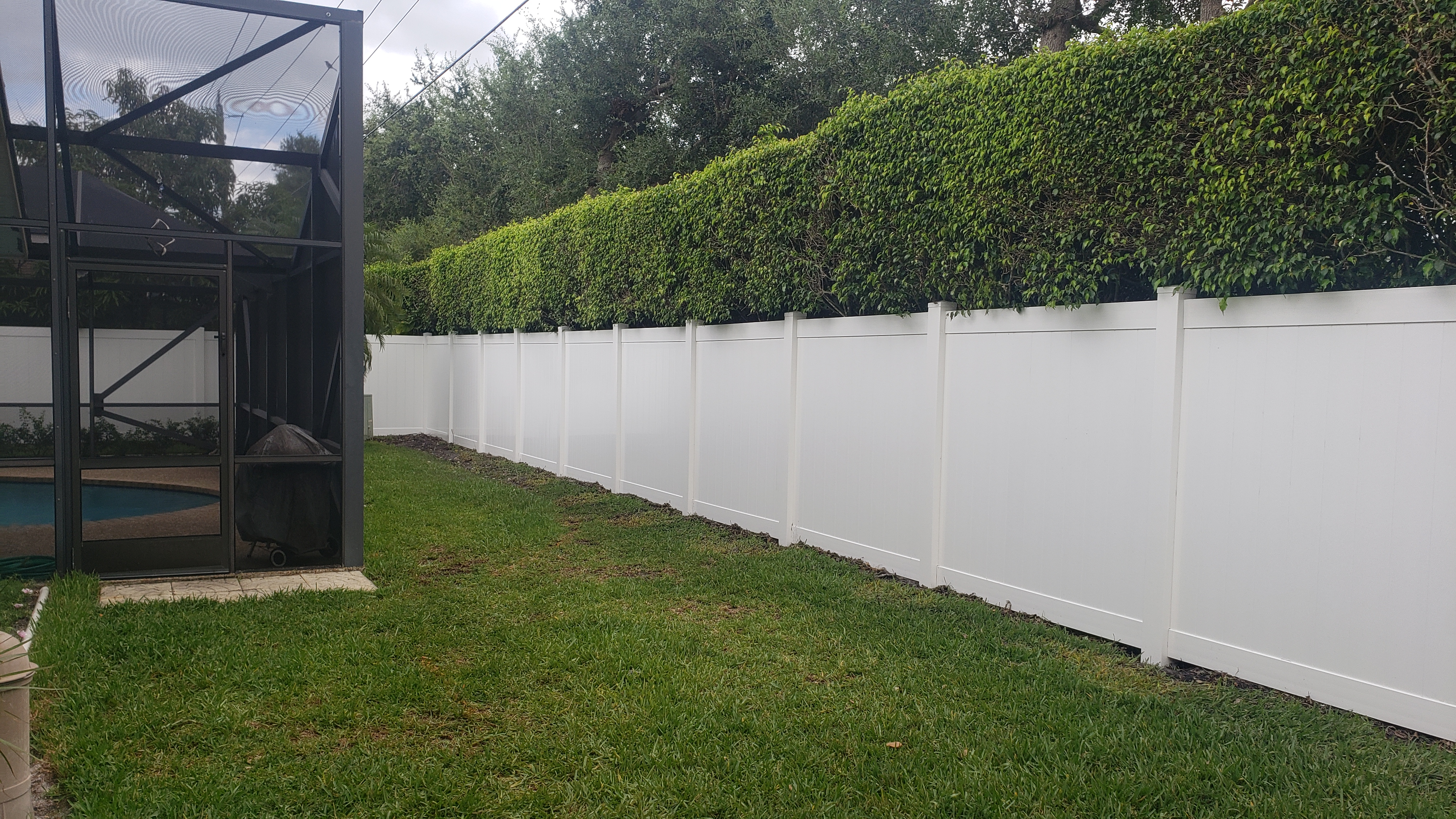 top pvc privacy fence installation in Houston